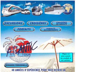 atlantictour.net screenshot