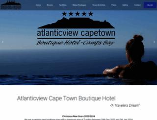 atlanticviewcapetown.com screenshot