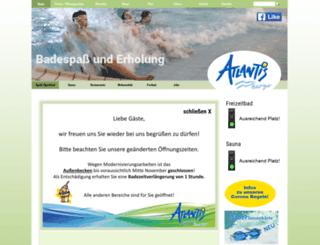 atlantis-bad.de screenshot