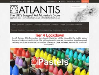 atlantisart.co.uk screenshot