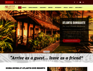 atlantishotel.com screenshot