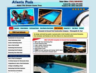 atlantispoolsinc.com screenshot