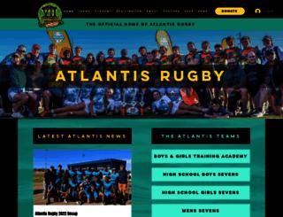 atlantisrugby.com screenshot