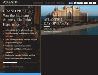atlantisthepalmgiveaway.com screenshot