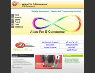 atlas4e.com screenshot