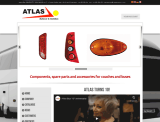 atlasautobus.com screenshot
