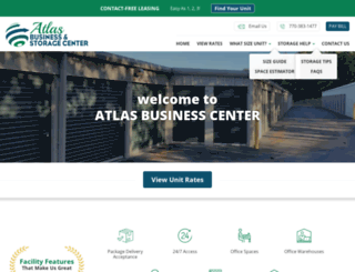 atlasbizcenter.com screenshot