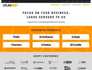 atlashost.eu screenshot