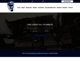atlasplumbingnyc.com screenshot