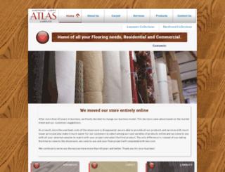 atlasrugflooring.com screenshot