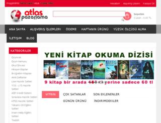 atlasyayincilik.com screenshot