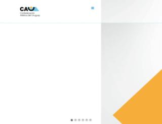 atlecau.org.uy screenshot