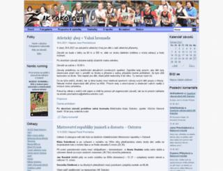 atletika-sokolov.com screenshot