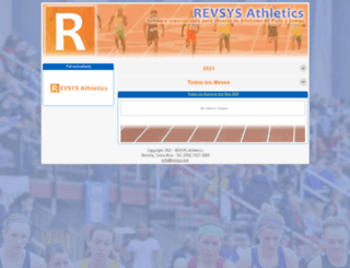 atletismocr.com screenshot