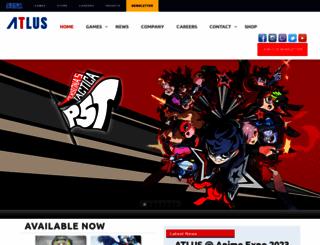 atlus.com screenshot