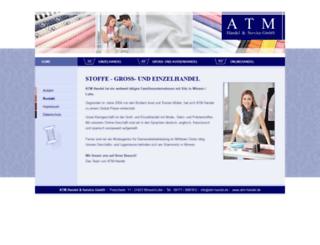 atm-handel.de screenshot