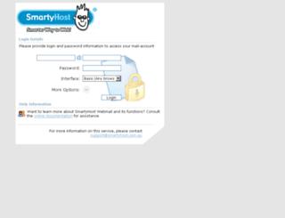 atmail.smartyhost.com.au screenshot