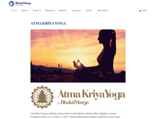 atmakriya.pl screenshot