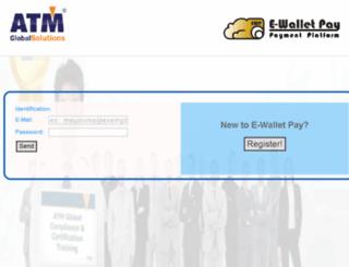 atmglobalpay.com screenshot