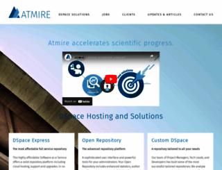 atmire.com screenshot