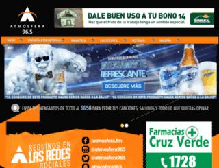 atmosfera.emisorasunidas.com screenshot