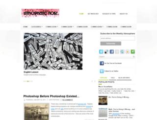 atmosphericnoises.blogspot.com screenshot