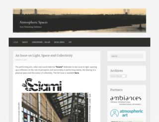 atmosphericspaces.wordpress.com screenshot