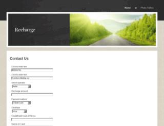 atmrecharge.yolasite.com screenshot