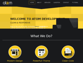 atom-wd.com screenshot