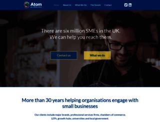 atomcontentmarketing.co.uk screenshot