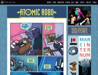 atomic-robo.com screenshot