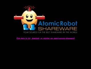 atomicrobotshareware.com screenshot