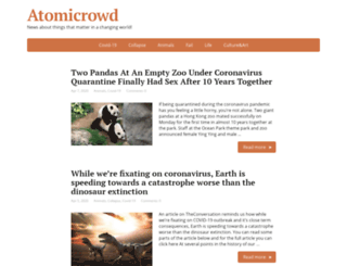 atomicrowd.com screenshot
