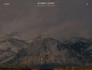 atomicsushi.de screenshot