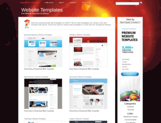 atomicwebsitetemplates.com screenshot