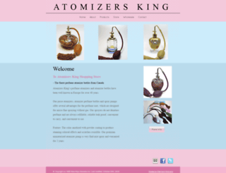 atomizersking.com screenshot