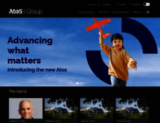 atosorigin.com screenshot