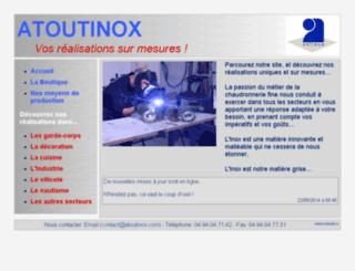 atoutinox.com screenshot