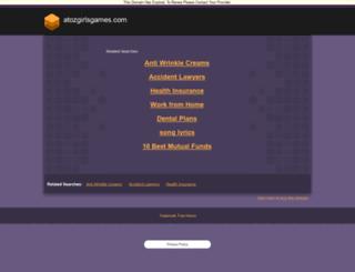 atozgirlsgames.com screenshot