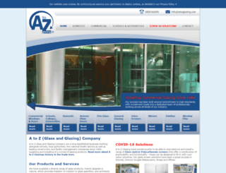 atozglazing.com screenshot