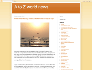 atozworldwidenews.blogspot.in screenshot