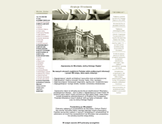 atrakcje-wroclawia.pl.tl screenshot