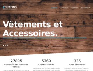 atrending.com screenshot