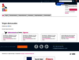 atrevetesolo.com screenshot