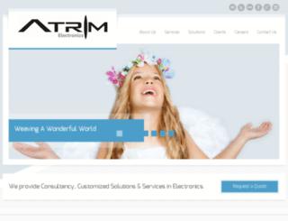 atrimelectronics.com screenshot