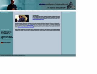atrium-software.com screenshot