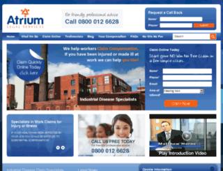 atriumlegal.com screenshot