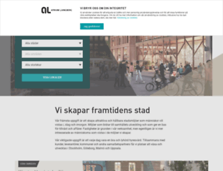 atriumljungberg.se screenshot