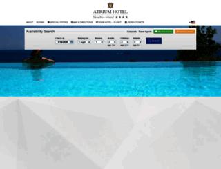 atriumskiathos.reserve-online.net screenshot