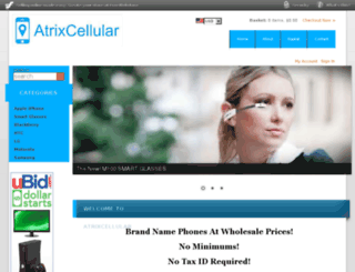 atrixcellular.com screenshot